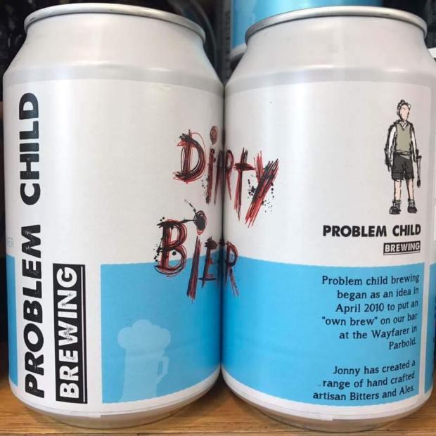Problem Child beer Parbold